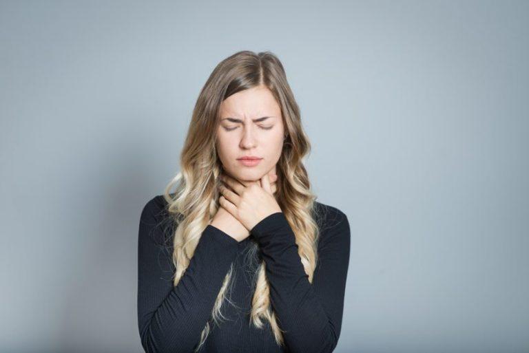 Uczucie guli w gardle – przyczyny