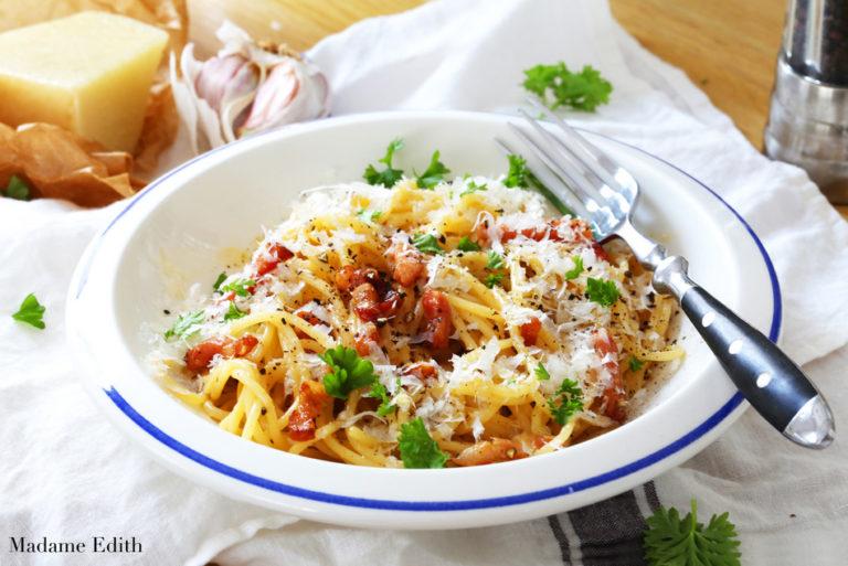 Carbonara kwestia smaku – bardzo smaczne danie