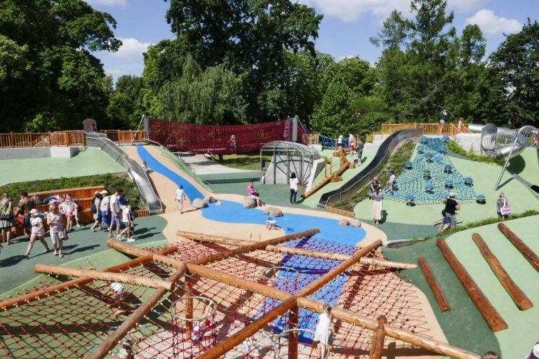 Czy warto udać się z dzieckiem na plac zabaw Park Ujazdowski?