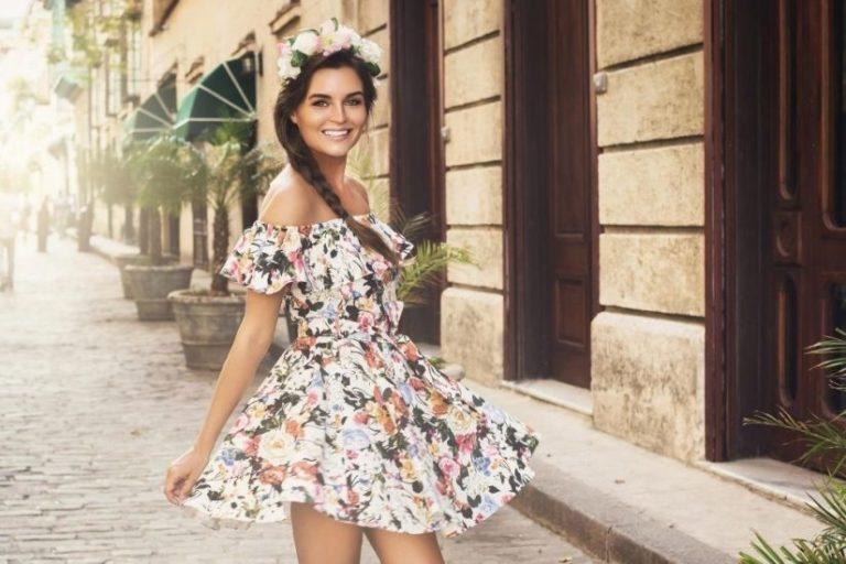 Bonprix sukienki letnie na plażę i nie tylko